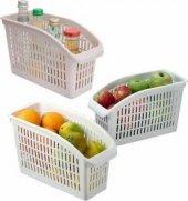 Buzdolabı İçi Sebze Meyve Düzenleyici Beyaz