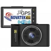 Novatek 4K WIFI GPS 4K Ultra HD Pro Araç Kamerası NT603GW-2
