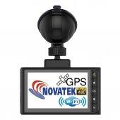 Novatek 4K WIFI GPS 4K Ultra HD Pro Araç Kamerası NT603GW-3
