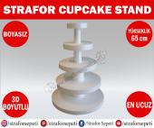 Strafor Sepeti - Strafor Cupcake Standı Boy 65 cm Boyasız, Strafor Dekor, Strafor Parti, Strafor Doğum Günü