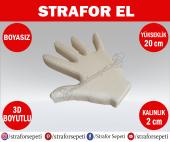 Strafor Sepeti - Strafor El Maketi Boy 20 cm Boyasız, Strafor Dekor, Strafor Parti, Strafor Doğum Günü-2