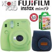 Fujifilm İnstax Mini 9 Ekonomik Kit (Yeşil)...