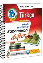 çanta Yayınları 8.sınıf Türkçe Kazandıran Defter 2019