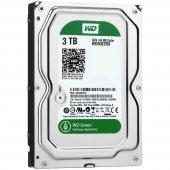 Wd 3 Tb 5400 Rpm Sata3 3,5 7x24 Güvenlik Harddisk (Wd30ezrx)