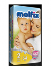 Molfix No 2 Mini İkiz Paket 54 Adet