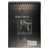 Ponart Black Blok Spiralli Siyah Defter 130 Gr....