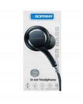 Soffany Super Bass Kulaklık Örgülü Kablo