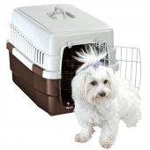 ımac Carry 60 Köpek Taşıma Kafesi Kahverengi