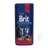 Brit Pouch Beef Sığır Etli Kedi Konserve 100 Gr 6 ...