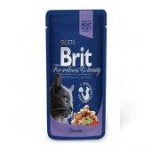 Brit Pouch Cod Fish Balıklı Kedi Konserve 100 Gr 12 Adet