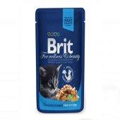 Brit Premium Kitten Tavuklu Yavru Kedi Konserve 10...