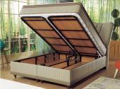 Viyana Tek Kişilik Set Baza+Başlık+Ortopedik Yatak (100x200)-3
