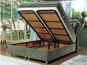 SoftEnergy Çift Kişilik Set Baza+Başlık+Ortopedik Yatak (150x200)-3