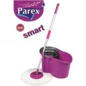 Parex Smart Mikrofiber Mop Temizlik Seti Otomatik Sıkmalı Vileda
