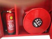 Yangın Dolabı 20 Metre Hortumlu Sıfır Faturalı Ürün