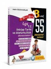 çanta Yayınları 8.sınıf T.c Atatürkçülük Ve İnklap Tarihi 55 Li Lgs Deneme