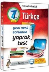 çanta Yayınları 7.sınıf Türkçe Yaprak Test 2019