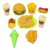 Fast Food Yiyecekler Oyun Seti