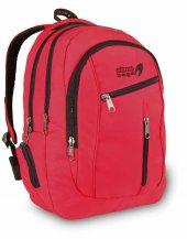 Laptop Bölmeli Okul Çantası Ve Sırt Çantası Günlük Kullanım Kırmızı