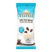 Teymur Telveli Sütlü Türk kahvesi Şekersiz 19,5 Gr  Ofis Seti 10 lu KutuX12=120 adet=1 Koli-3