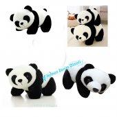 Oyuncak Peluş Panda Yatan Sevimli Kaliteli 25...