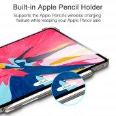 iPad Pro 11 Kılıf, ESR Yippee pencil holder,Silver Gray-3