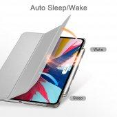 iPad Pro 11 Kılıf, ESR Yippee pencil holder,Silver Gray-6