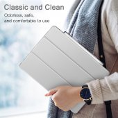 iPad Pro 11 Kılıf, ESR Yippee pencil holder,Silver Gray-9