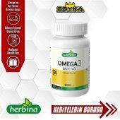Herbına Omega 3 Balık Yağı 120 Kapsül