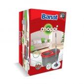 Banat Moppi Döner Başlıklı Mop Set Temizlik...