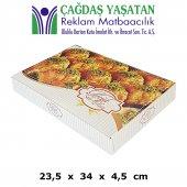 2000 Gram Baklava Kutusu (100 Adet) 017
