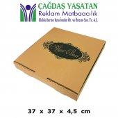 37 x 37 Pizza Kutusu ( 100 Adet ) - 029