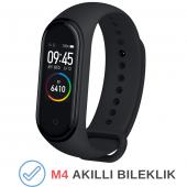 M4 Akıllı Bileklik Kol Bandı Fitness Saat Renkli E...