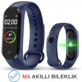 M4 Akıllı Bileklik Kol Bandı Fitness Saat Renkli Ekran Adım Sayar Nabız Kalori Ölçer İOS & Android Uyumlu-2