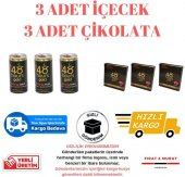 48 Hours Gold Ginseng 3 Adet İçecek 150ml Ve 3 Adet Çikolata 16gr Ücretsiz Kargo