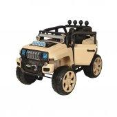 85569 Akülü Safari Jeep Büy.bej