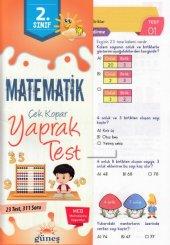 Güneş 2.sınıf Matematik Yaprak Test Yeni