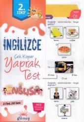 Güneş 2. Sınıf İngilizce Yaprak Test Yeni