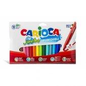 Carioca Jumbo Yıkanabilir Keçeli Boya Kalemi