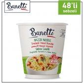 Banetti Noodle Bardak Sebze Çeşnili 48 Adet