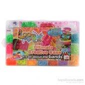 Oyuncak Rainbow Loom Twister Bileklik Yapma Seti 3000 Parça