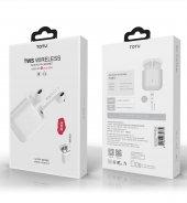 Totu Desıgn Eaub 014 Tws Wıreless Beyaz Bluetooth Kulaklık