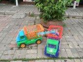 Oyuncak Market Pazar Arabası Kamyon Kargo Ücretsiz-6