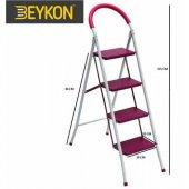 Beykon Metal Merdiven Ev Tipi 4 Basamak
