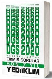 2020 Dgs Sayısal Sözel Bölüm Son 7 Yıl Çıkmış...
