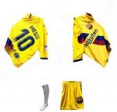Barcelona Messi Erkek Çocuk Forması Takımı Tozluk Hediyelidir