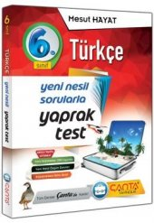 çanta Yayınları 6.sınıf Türkçe Yaprak Test 2019