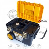 Pro Mobil Metal Saplı Takım Çantası Büyük Boy Tekerlekli Takım Sandığı Asr2010