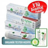 Organicadent Florürsüz Organik Diş Macunu 50 Ml X3...
