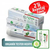 Organicadent Florürsüz Organik Diş Macunu 50 Ml X2...